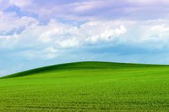 πράσινος λόφος Στοκ φωτογραφία με δικαίωμα ελεύθερης χρήσης