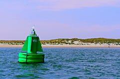 Πράσινος bouy Στοκ φωτογραφίες με δικαίωμα ελεύθερης χρήσης