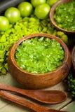 πράσινο άλας λουτρών Στοκ Φωτογραφίες