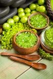 πράσινο άλας λουτρών Στοκ Εικόνες