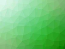 Πράσινο άσπρο αφηρημένο διαμορφωμένο πολύγωνο υπόβαθρο κλίσης Στοκ φωτογραφίες με δικαίωμα ελεύθερης χρήσης