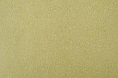 Πράσινο έγγραφο άμμου Στοκ φωτογραφία με δικαίωμα ελεύθερης χρήσης