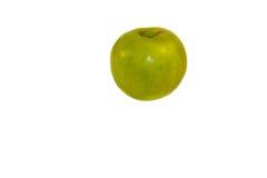 πράσινο απομονωμένο λευκό ανασκόπησης μήλων Στοκ φωτογραφία με δικαίωμα ελεύθερης χρήσης