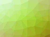 Πράσινο αφηρημένο διαμορφωμένο πολύγωνο υπόβαθρο κλίσης Στοκ εικόνες με δικαίωμα ελεύθερης χρήσης