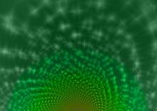 Πράσινο αφηρημένο διαφανές υπόβαθρο Στοκ Εικόνα