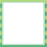 Πράσινο αφηρημένο πρότυπο πλαισίων για τα σχέδια, πρόσκληση, κόμμα, γενέθλια, γάμος Στοκ φωτογραφίες με δικαίωμα ελεύθερης χρήσης