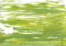 Πράσινο αφηρημένο υπόβαθρο watercolor βρύου Στοκ φωτογραφίες με δικαίωμα ελεύθερης χρήσης