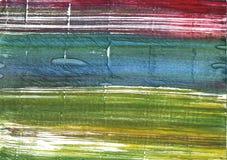 Πράσινο αφηρημένο υπόβαθρο watercolor βρύου Στοκ Εικόνες