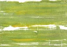 Πράσινο αφηρημένο υπόβαθρο watercolor βρύου στοκ φωτογραφία με δικαίωμα ελεύθερης χρήσης