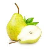 πράσινο αχλάδι φύλλων