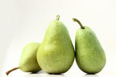 πράσινο αχλάδι στοκ φωτογραφία