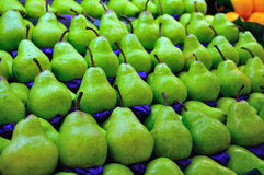 πράσινο αχλάδι Στοκ εικόνα με δικαίωμα ελεύθερης χρήσης