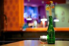 Πράσινο βάζο λουλουδιών Στοκ φωτογραφία με δικαίωμα ελεύθερης χρήσης