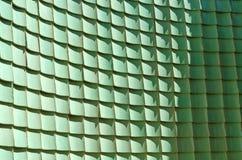 Πράσινο βερνικωμένο κεραμίδι παραδοσιακού κινέζικου, τοίχος καμπυλών Στοκ Εικόνες