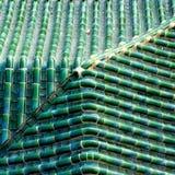 Πράσινο γυάλινο κεραμίδι Στοκ Φωτογραφία