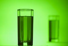 Πράσινο γυαλί Στοκ φωτογραφία με δικαίωμα ελεύθερης χρήσης