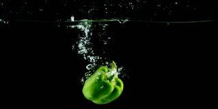 πράσινο γλυκό πιπεριών Στοκ φωτογραφία με δικαίωμα ελεύθερης χρήσης