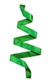 πράσινο δέντρο κορδελλών Στοκ Εικόνες