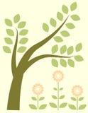 πράσινο δέντρο διανυσματική απεικόνιση