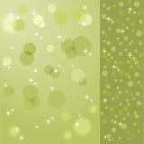 πράσινο διάνυσμα αστεριών &s Στοκ εικόνα με δικαίωμα ελεύθερης χρήσης