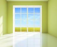 Πράσινο δωμάτιο Στοκ εικόνα με δικαίωμα ελεύθερης χρήσης