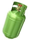 Πράσινο εμπορευματοκιβώτιο αερίου Στοκ φωτογραφία με δικαίωμα ελεύθερης χρήσης