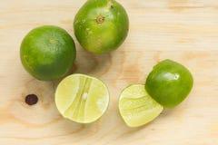 πράσινο λεμόνι Στοκ Εικόνες