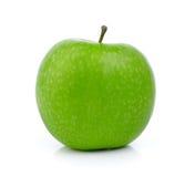 πράσινο λευκό ανασκόπησης μήλων Στοκ εικόνες με δικαίωμα ελεύθερης χρήσης