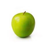 πράσινο λευκό ανασκόπησης μήλων Στοκ Εικόνες
