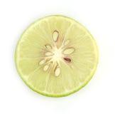 πράσινο λευκό λεμονιών αν& Στοκ φωτογραφία με δικαίωμα ελεύθερης χρήσης