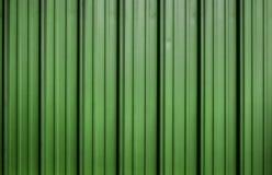 Πράσινο ζαρωμένο φύλλο μετάλλων στοκ εικόνα με δικαίωμα ελεύθερης χρήσης