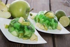 Πράσινο ζελέ Στοκ Εικόνες