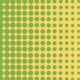 Πράσινο ημίτονο υπόβαθρο κύκλων, ημίτονο σχέδιο σημείων Στοκ φωτογραφία με δικαίωμα ελεύθερης χρήσης