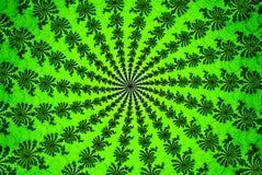 Πράσινο θερινό fractal χλόης Στοκ Φωτογραφία