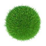 πράσινο διάνυσμα χλόης σφα Στοκ Εικόνες