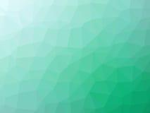 Πράσινο διαμορφωμένο πολύγωνο υπόβαθρο κλίσης κιρκιριών αφηρημένο Στοκ φωτογραφία με δικαίωμα ελεύθερης χρήσης