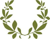 Πράσινο διανυσματικό σχέδιο προτύπων φύλλων Στοκ φωτογραφία με δικαίωμα ελεύθερης χρήσης