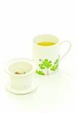 πράσινο ιαπωνικό τσάι Στοκ Εικόνα