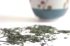 πράσινο ιαπωνικό τσάι Στοκ εικόνα με δικαίωμα ελεύθερης χρήσης