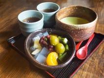 πράσινο ιαπωνικό τσάι Στοκ Φωτογραφία