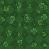 Πράσινο ιρλανδικό σχέδιο Στοκ Εικόνα