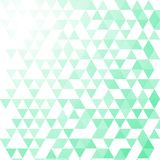 Πράσινο και άσπρο υπόβαθρο σχεδίων τριγώνων, eps10 ελεύθερη απεικόνιση δικαιώματος