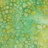Πράσινο και καφετί υπόβαθρο μπατίκ Στοκ εικόνα με δικαίωμα ελεύθερης χρήσης