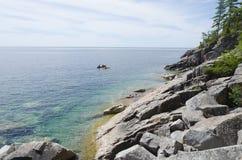 Πράσινο και μπλε ύδωρ Στοκ Φωτογραφία