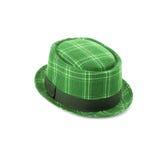 Πράσινο καπέλο βελούδου Στοκ Φωτογραφίες