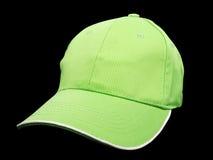Πράσινο καπέλο του μπέιζμπολ Στοκ φωτογραφία με δικαίωμα ελεύθερης χρήσης