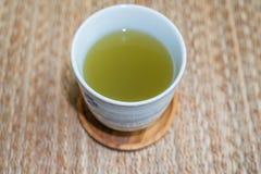 πράσινο καυτό τσάι Στοκ Φωτογραφίες