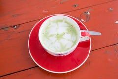 πράσινο καυτό τσάι Στοκ φωτογραφίες με δικαίωμα ελεύθερης χρήσης