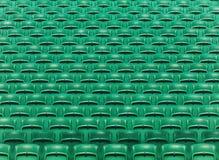 Πράσινο κενό υπόβαθρο πτυσσόμενων καθισμάτων σταδίων στοκ εικόνες με δικαίωμα ελεύθερης χρήσης