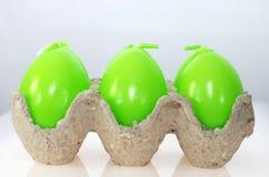 Πράσινο κερί αυγών Πάσχας Στοκ Εικόνες